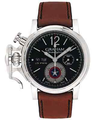 $ CDN3476.45 • Buy Graham Chronofighter Vintage Captain America Chronograph Automatic Men's Watch