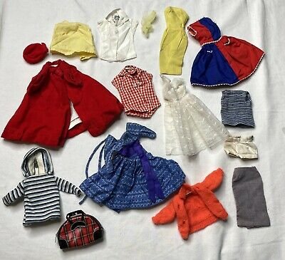 $ CDN24.17 • Buy Vintage Lot Of 1960's Barbie Doll Clothes/Outfits - 943,978,975,987,939,967,976+