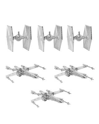 Official Star Wars Christmas Tree Decorations / Ornaments (Silver) - DAMAGED BOX • 5£