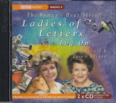 £5.99 • Buy Ladies Of Letters Log On 2CD BBC Radio 4 Woman's Hour Comedy Scales Routledge