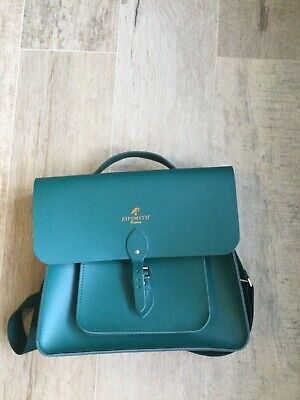 £130 • Buy Sipsmith London The Cambridge Satchel Company Leather Green With No Contents