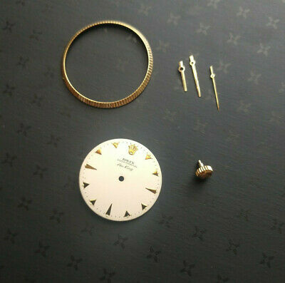 $ CDN822.26 • Buy Vintage Rolex Dial,bezel,hands, & Crown For Air-king Reference 5501.parts Only.