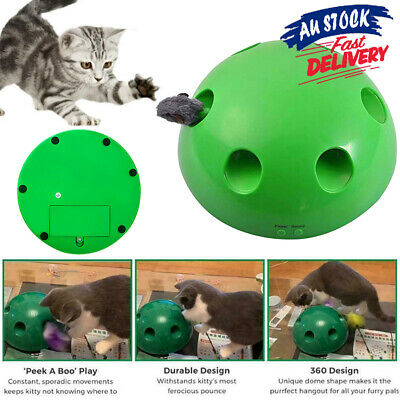 AU26.95 • Buy Electronic Toys Interactive Pet Motion Mouse Tease Toy Cat Play Funny ACB#