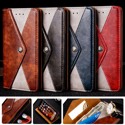 AU13.99 • Buy Genuine Leather Wallet Case Cover For OnePlus 9 Pro 8T 7T Pro 6T 5T 3T Nord N10