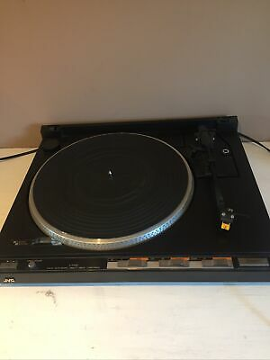 £80 • Buy VINTAGE,JVC Turntable L-F210B,Fully Automatic Direct Drive ,No Lid,All Works Ok