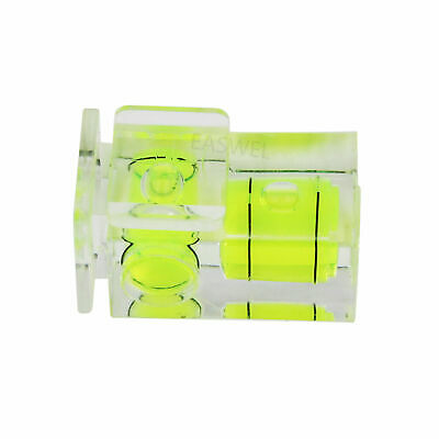 £1.95 • Buy Two Axis Double Bubble Spirit Level Flash Hot Shoe Mount For Dslr Camera