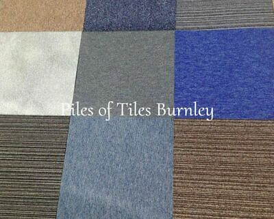 £19.99 • Buy 20 Mixed  Carpet Tiles Only £19.99 Per Box  INC FREE DELIVERY