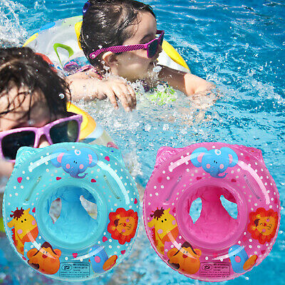 £5.40 • Buy Baby Kids Swim Ring Inflatable Toddler Float Trainer Safety Swimming Pool Water