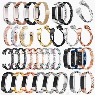 AU12.99 • Buy Stainless Steel Milanese Replacement Watch Band Strap For Fitbit Alta & Alta HR