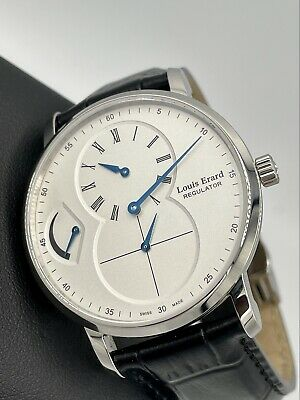 £1582.67 • Buy Louis Erard Excellence Regulator Power Reserve Swiss Manual Wind 40mm White Dial