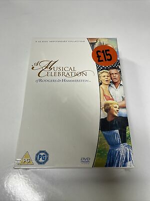 £14 • Buy Rodgers And Hammerstein Musicals DVD  12-Disc Set Box Set NEW & SEALED FREE POST