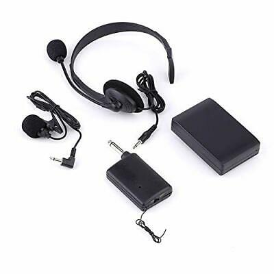 £39.99 • Buy Wireless Microphone Set With Headset Lavalier Lapel Microphone, Clip On