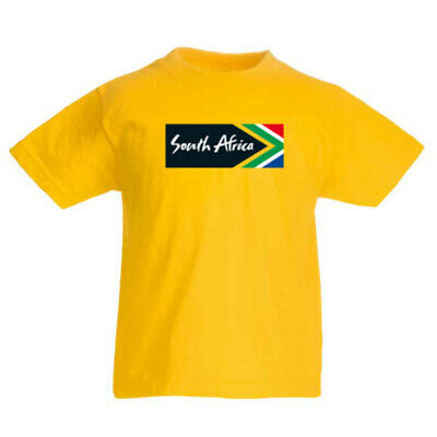 £14.62 • Buy SOUTH AFRICA Country Flag T-shirt