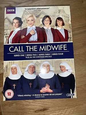 £13 • Buy Call The Midwife - Series 1-4 Including Christmas Specials. Discs VG Condition