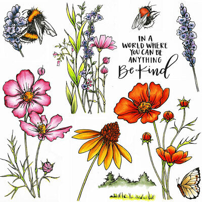 £14.99 • Buy Hobby Art Stamps - Be Kind A5 Stamp Set