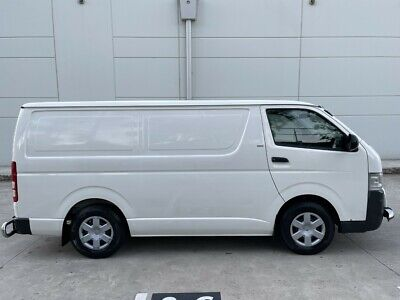 AU10000 • Buy Toyota Hiace 2008 Van 3 Seater Manual 2.7l Petrol Clean Inside Out Reliable