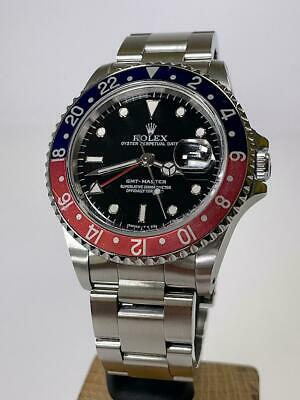 $ CDN16198.47 • Buy Rolex GMT-Master 16700 Pepsi From 1991