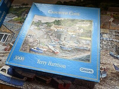 £4.50 • Buy Gibsons 1000 Piece Jigsaw Puzzle  Cadgwith Cove  Complete