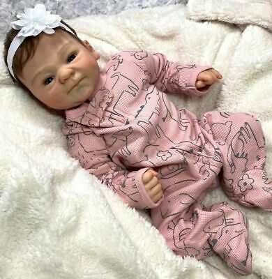 $ CDN116.14 • Buy New 20  Soft Vinyl Silicone Reborn Baby Dolls Lifelike Dolls Boy Girl Gift Maria