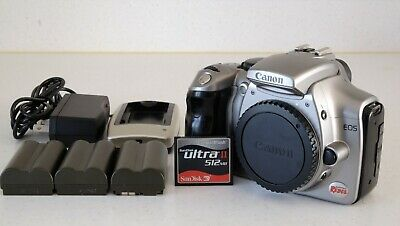 £55.70 • Buy Canon EOS Digital Rebel / 300D – Good Working Condition