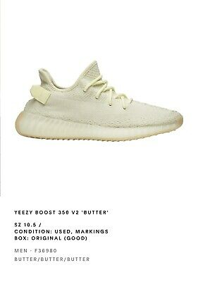 $ CDN279.02 • Buy ADIDAS Yeezy Boost 350 V2 Butter SIZE 10.5 Preowned