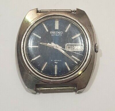 $ CDN60.49 • Buy Vintage Seiko 7006-7000 Automatic 21 Jewels Wrist Watch For Parts Or Repair