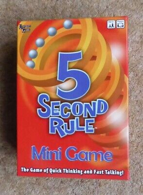 AU7.25 • Buy 5 Second Rule Mini Game By University Games