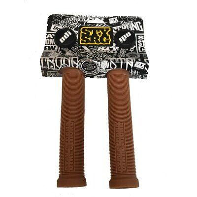 £18.99 • Buy ODI Stay Strong Lion Heart BMX / Scooter Bicycle Cycle Bike Grips Brown - 143 MM