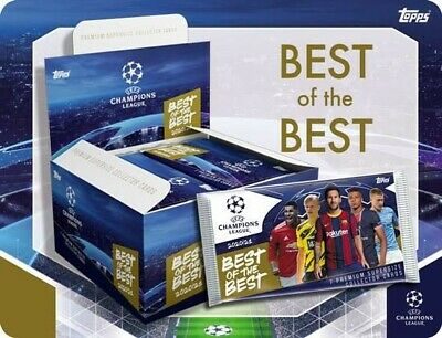 £12.50 • Buy Topps Champions League Best Of The Best Cards 20/21 - 10 Packs