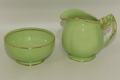 $ CDN36.58 • Buy Royal Winton Grimwades Green Tiger Lily Milk Jug And Sugar Bowl
