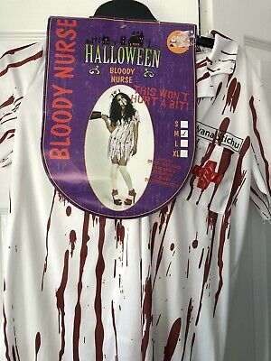$ CDN5.96 • Buy Halloween Bloody Nurse Costume