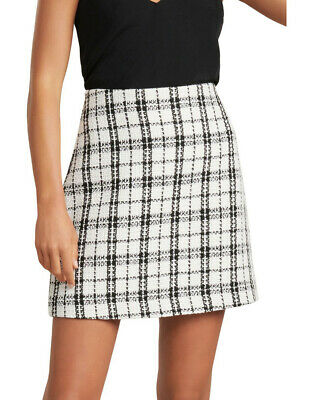 AU50 • Buy BNTW Forever New Talia Boucle Check Mini Skirt Size 6