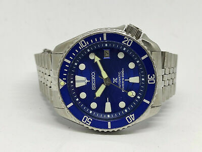 $ CDN2.05 • Buy Seiko Diver 7002-7000 Lovely Save The Ocean Mod Automatic Mens Watch 2n2227
