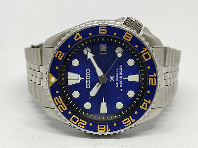 $ CDN35.80 • Buy Seiko Diver 7002-7000 Lovely Save The Ocean Mod Automatic Mens Watch 4n5366