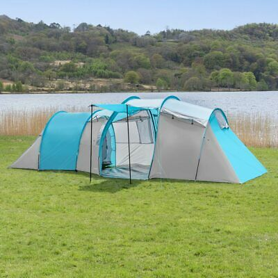 £229.99 • Buy FORAGER Indiana 6 Man Tent | WATERPROOF 6 PERSON MAN TENT – Family Camping Tent