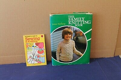 £6.75 • Buy Family Knitting Book & Beginners Guide To Sewing & Knitting Book
