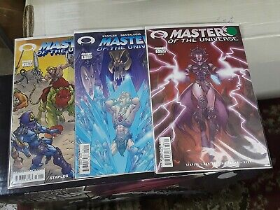 $15 • Buy Masters Of The Universe #1-3 (Image) 2002-2003