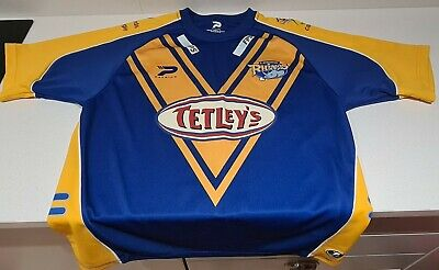 £8.99 • Buy Leeds Rhinos 2006/2007 Home Rugby League Shirt Jersey Patrick Size L Adult Vgc