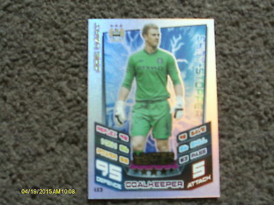£1 • Buy Match Attax Extra  2012/2013 Joe Hart Limited Edition Card