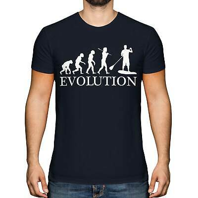 £9.95 • Buy Paddle Board Evolution Mens T-shirt Tee Top Gift Boarding Suit