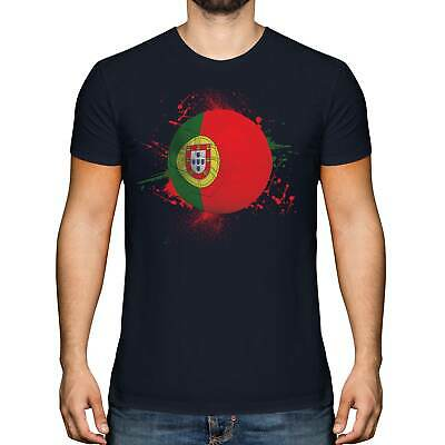 £9.95 • Buy Portugal Football Mens T-shirt Tee Top Gift World Cup Sport