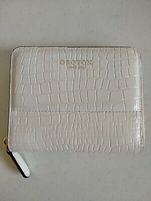 AU50 • Buy Authentic White Moc Croc Medium Oroton Wallet