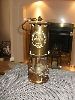 £30 • Buy Miners Lamp Brass Oil Safety Eccles Mining Coal Board Ncb Equipment.