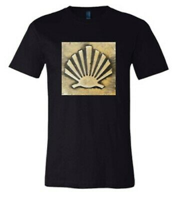 £19.99 • Buy Scallop Shell Camino De Santiago Unisex T-Shirt Large