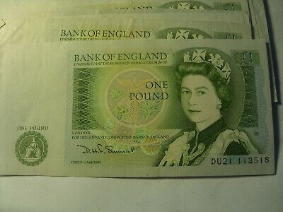 £3.29 • Buy 1 Old  Pound  Note  Somerset  Uncirculated