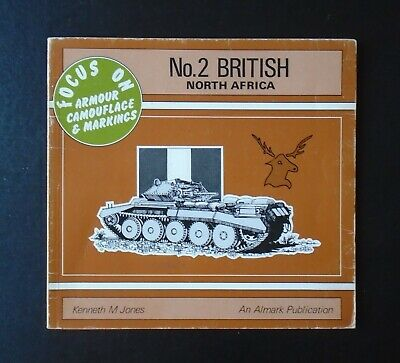 £15.95 • Buy Focus On Armour, Camouflage & Markings By K.M. Jones ~ No.2 British North Africa