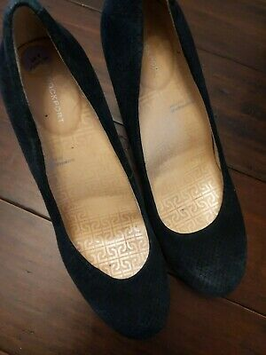 £4.50 • Buy Ladies Rockport Shoes Leather/material  UK  Size 6/ Size 39 High Heels