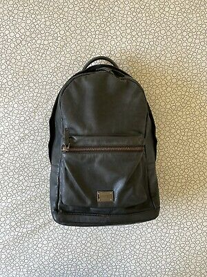 AU100 • Buy Oroton Mens Or Womens Black Leather Backpack Bag