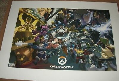AU62.38 • Buy OVERWATCH Anniversary Fine Art Print--Certificate Of Authenticity--FREE SHIPPING