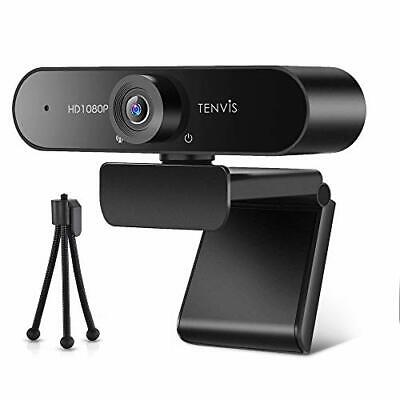 £31.33 • Buy 1080P Business Webcam With Microphone For Desktop Laptop - TENVIS 120° Wide A...